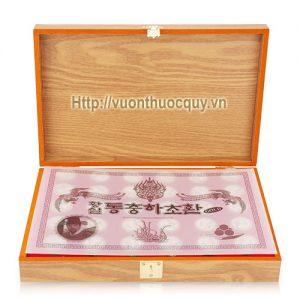 đông trùng hạ thảo hộp gỗ kanghwa 2