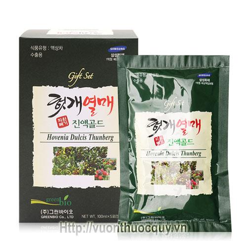 nước bổ gan green bio hovenia dulcis thunberg 2