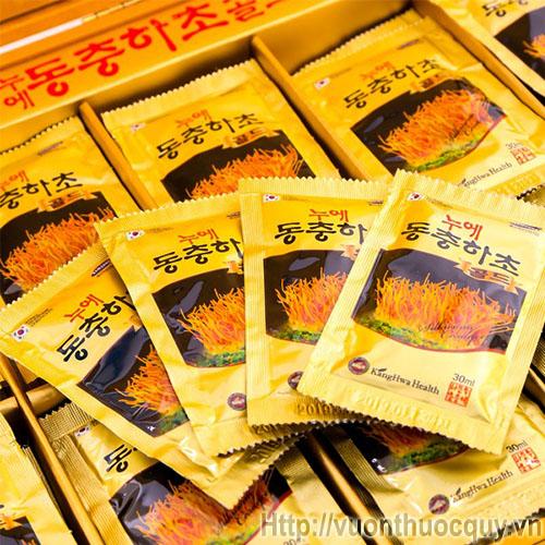 tinh chất đông trùng hạ thảo hộp vàng kanghwa 5
