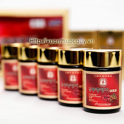 cao linh chi đông trùng hạ thảo extract gold 3