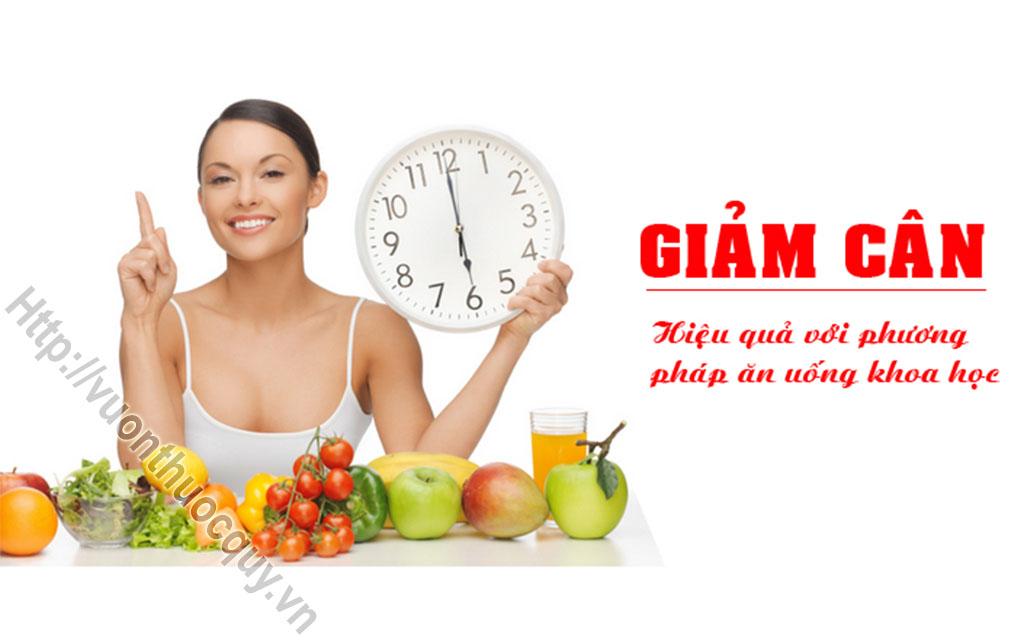 chế độ ăn cho người giảm cân