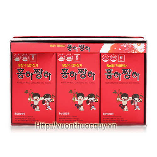 hồng sâm baby daedong korean red ginseng kid tonic 1