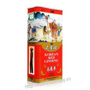 hồng sâm khô nguyên củ boolrogeon korean red ginseng 1