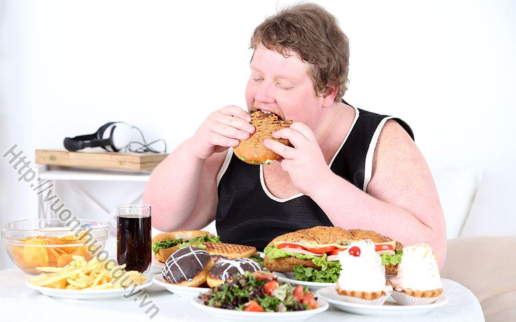 nguyên nhân gây ra bệnh béo phì