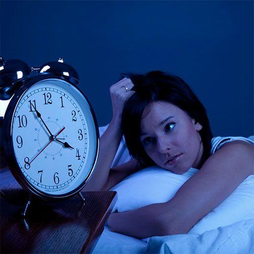 stress mất ngủ