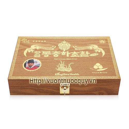 đông trùng hạ thảo hộp gỗ kanghwa