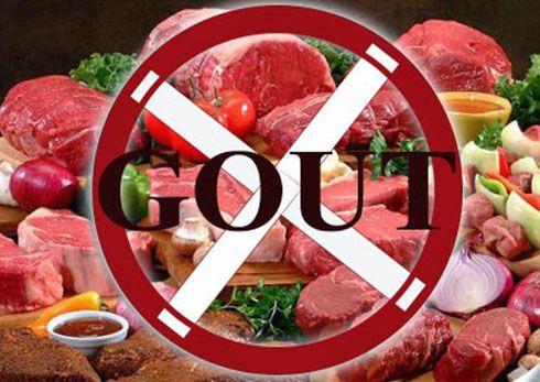 những thực phẩm bệnh gout nên tránh
