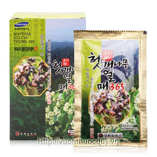 nước bổ gan hovenia 365 kanghwa 2