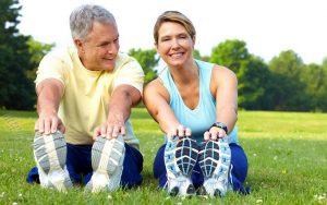 tập thể dục giúp điều hòa huyết áp