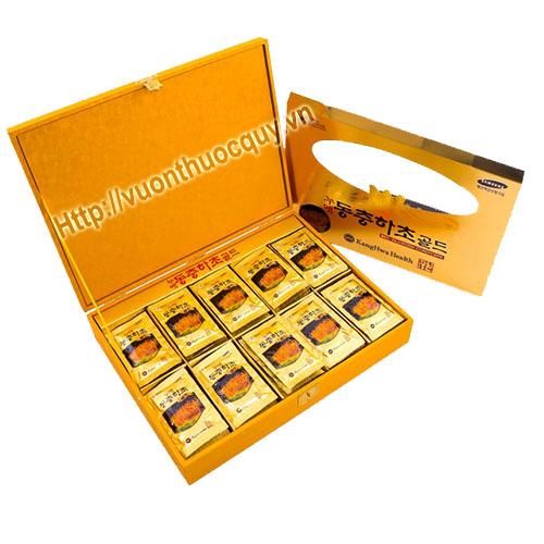 tinh chất đông trùng hạ thảo hộp vàng kanghwa 3