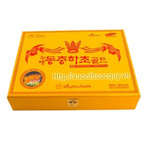 tinh chất đông trùng hạ thảo hộp vàng kanghwa