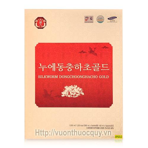 tinh chất đông trùng hạ thảosilkworm dongchoonghacho gold 1