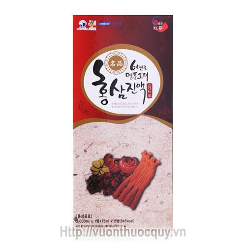 tinh chất hồng sâm nhung hươu linh chi hanil ginseng 2