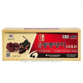 Cao Linh Chi Đông Trùng Hạ Thảo Extract Gold