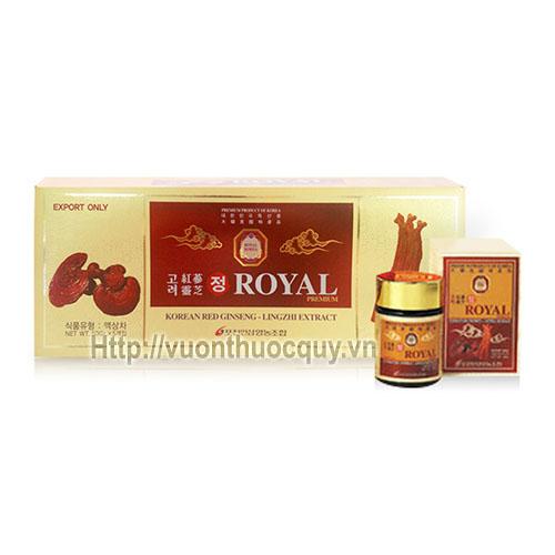 cao linh chi hồng sâm royal korean red ginseng lingzhi extract