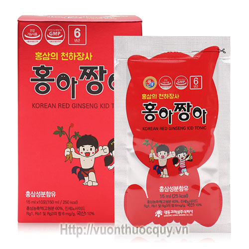 hồng sâm baby daedong korean red ginseng kid tonic 2