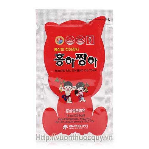 hồng sâm baby daedong korean red ginseng kid tonic 3