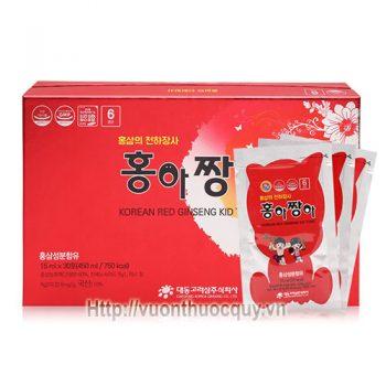 hồng sâm baby daedong korean red ginseng kid tonic