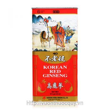 Hồng Sâm Khô Nguyên Củ Boolrogeon Korean Red Ginseng 37.5g