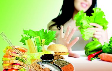 Những Sai Lầm Thường Gặp Trong Giảm Cân như: ăn chất béo làm cho mình béo, tập luyện những môn thể thao không phù hợp, không đo đếm lượng calo dung nạp...