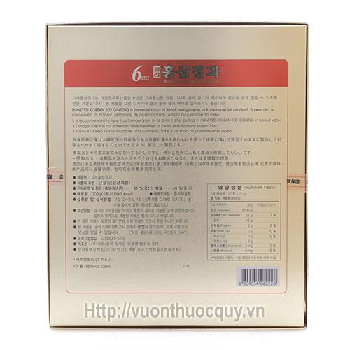 sâm tẩm mật ong kgs 3